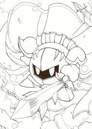 Small Picture Download Meta Knight Coloring Pages Ziho Coloring