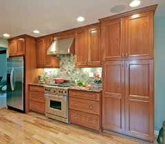 Kitchen Cherry Cabinets Cherry Cabinets Kitchen Contemporary With Corian Cherry Cabinets