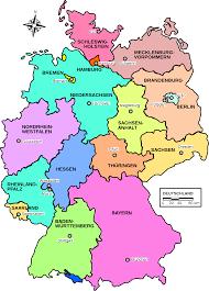 Bundesrepublik deutschland) ist ein bundesstaat in mitteleuropa. Datei Map Germany Lander De Svg Wikipedia