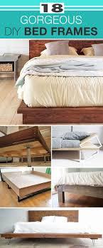Bed Frame Designs Diy Diy Crafts 18 Diy Gorgeous Diy Bed Frames How To Build A