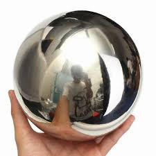 stainless steel mirror garden sphere ornaments gazing 5 1 8 10 12