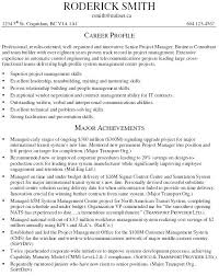 Management Consulting Resume Examples Business Consultant Resumes