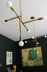 modfrugal diy brass chandelier modfrugal diy brass chandelier