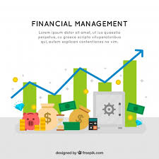 Financial Management Background Vector Free Download