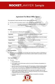 Standard Lease Agreements Adorable Home Office Lease Home Office Rental Agreement Template