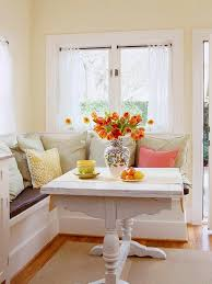 image breakfast nook september decorating. A Breakfast Nook Provides An Easy Opportunity To Recycle And Reuse. Repaint Table From Your Basement, Add Some Extra Throw Pillows Guest Bedroom, Image September Decorating I