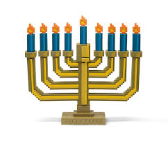 8 bit light up menorah