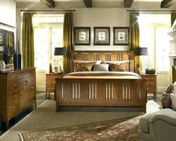 Craftsman Style Bed Mission Style Bed Beautiful Craftsman Bedroom ...