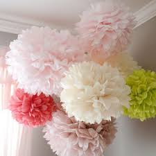 Paper Puff Ball Decorations