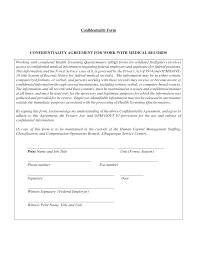 Contractor Confidentiality Agreements Confidentiality Agreement Form Strong Illustration Cruzrich 6