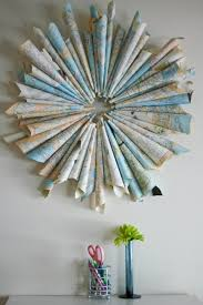 Creative Decoration Good Design On Together With 30 Diy Maps Decorations  Compass Middle And 0