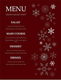 Free Catering Menu Templates For Microsoft Word Menus Office Com