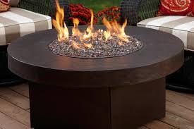 Amazon Com Gas Outdoor Fire Pit Table Oriflamme Savanna 38