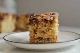 With the mixer running at low speed, alternate adding. Chocolate Chip Sour Cream Coffee Cake All Your Cravings
