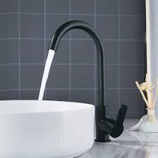 Sltyscf Faucet Black Black Black Modern Basin Faucets Sink Mixer
