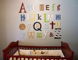 abc nursery wall decor wall decor letters wood home decoration club