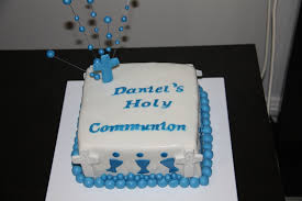 First Communion Cake Boy Cakecentralcom