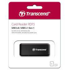 Đầu Đọc Thẻ Nhớ Transcend TS-RDF5K - USB 3.1 - Hàng Nhập khẩu - Đầu đọc thẻ  nhớ