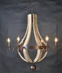 napa east collection wine barrel chandelier zulily pics