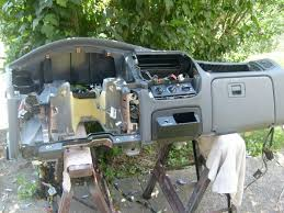 adding factory power doors to a ford ranger i am not going to cover removing the dash but here is the factory dash removed out any modifications to the harness