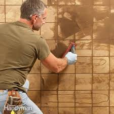 Grouting wall tile Black Grout Grouting Tips And Techniques The Family Handyman Grouting Tips And Techniques The Family Handyman