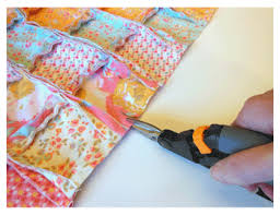 My Fabric Obsession: Easy Doll Rag Quilt & Pillow Tutorial & Wash and dry the quilt. The first few times it is washed, it will shed  quite a bit. It is best to wash the rag quilt and pillow separately from  any ... Adamdwight.com
