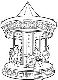 20 Carnival Game Coloring Sheet Ideas And Designs