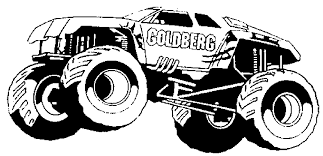 Small Picture Monster Truck Coloring Pages Printable Images Coloring Monster