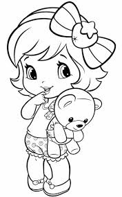 Coloring Pictures Coloring Pages Little Girl Kids Zone Coloring