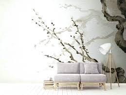 tree wall murals tree wall mural by la feature birch tree forest wall mural