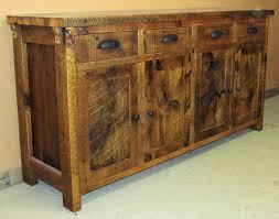 Rustic Kitchen Sideboard Buffet Tables Barn Wood Furniture Rustic Furniture Log