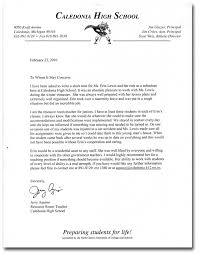 Letters Of Recommendation For Students Template Business