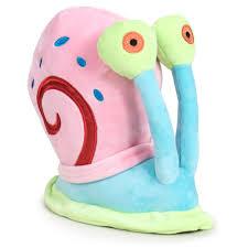 Sponge Bob Gary spandex plush toy 42cm - OcioStock