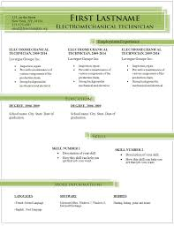Simple Resume Template Simple Resume Template 100 Free Samples Examples Format 65