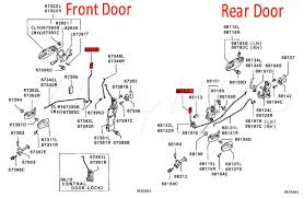door parts diagram es