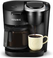 Mua Keurig K-Duo Essentials Coffee Maker, with Single Serve K-Cup Pod and  12 Cup Carafe Brewer, Black trên Amazon Mỹ - Danh mục Máy Pha Cà Phê -  LuxStore.Com