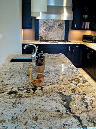 granite countertops are ideal for kitchens because it withstands high heat