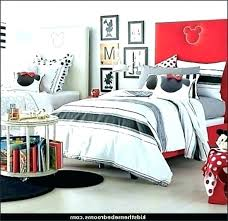 mickey mouse bedroom decorations red crib bedding set photo 4 of room in a box b