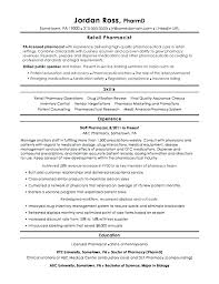 Pharmacist Resume Template Unique Pharmacist Resumes Pharmacist Resume Sample Best Retail Pharmacist