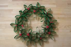 Christmas Paper Flower Wreath Jilliene Designing Tutorial Flower Wreath Made From Toilet Paper Rolls