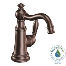 oil bronze bathroom faucets. MOEN Weymouth Single Hole 1-Handle High-Arc Bathroom Faucet In Oil Rubbed Bronze Faucets A