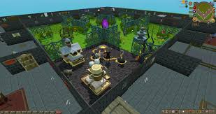 the account has an incredible player owned house from my many wasted hours on this game