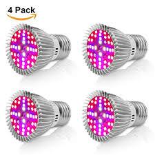 <b>Led Grow Light</b> Bulb,Derlights® 40W Equivalent <b>E27</b> Full Spectrum ...