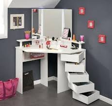 vanity for teenage girl remarkable corner bedroom vanity ideas makeup table teenager girls of vanity for