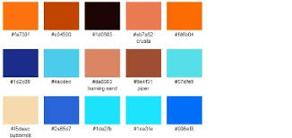 Coral and Blue Wedding Colors