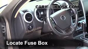 interior fuse box location 2002 2010 mercury mountaineer 2006 interior fuse box location 2002 2010 mercury mountaineer 2006 mercury mountaineer convenience 4 0l v6