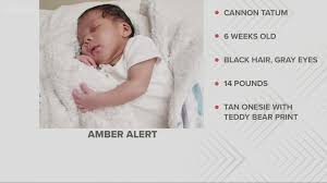 Amber is a backronym for america's missing: Amber Alert Canceled After 6 Week Old Boy Found Wkyc Com