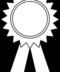 19 Award Ribbon Image Transparent Library Black And White Huge