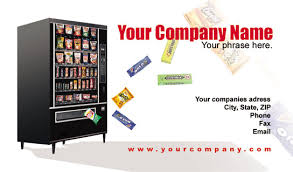 Vending Machines Locator Service Best Vending Business Cards Vending Service Cards Vending Machine Cards