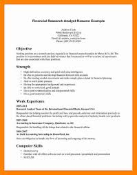 Market Research Analyst Resume Confortable Market Research Analyst
